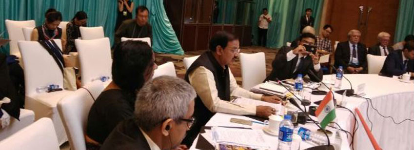 The Minister of State for Culture and Tourism (Independent Charge), Dr. Mahesh Sharma at the Second ...